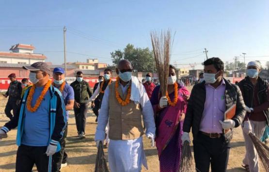 जनकपुर सरसफाई अभियान